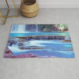The Pools of Havasupai Falls - Revisited Rug