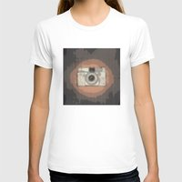 camera T-shirts featuring Camera by Mr and Mrs Quirynen