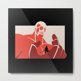 Attack On Titan v3 Metal Print