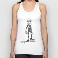 karl lagerfeld Tank Tops featuring Karl Lagerfeld by David Cessac