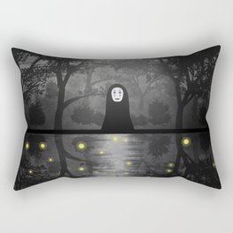 No Face Spirited Away Rectangular Pillow
