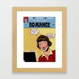 Minecraft Romance Issue #14 Framed Art Print