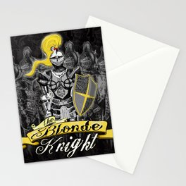 The Blonde Knight Stationery Cards