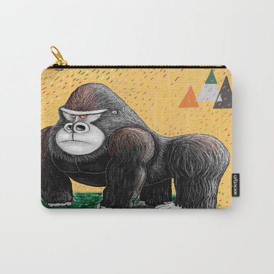 Endangered Rainforest Mountain Gorilla Carry-All Pouch