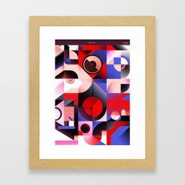 Vulcán Framed Art Print