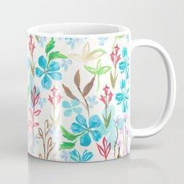 Azure flower garden Coffee Mug