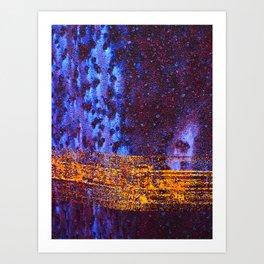 Space-Time Continuum Art Print
