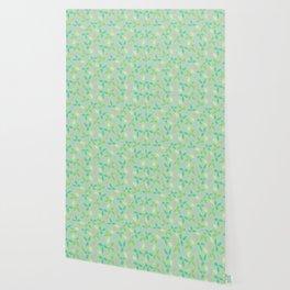 Whimsical Leaves Wallpaper