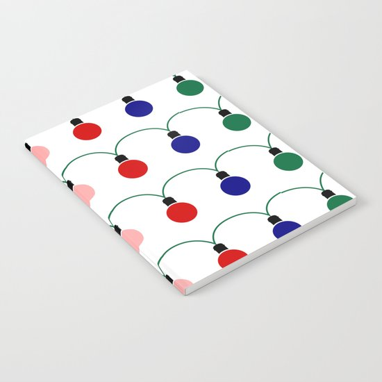 Christmas Light Notebook