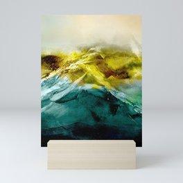 Abstract Mountain Mini Art Print