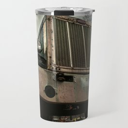 Rusty Warrior Travel Mug