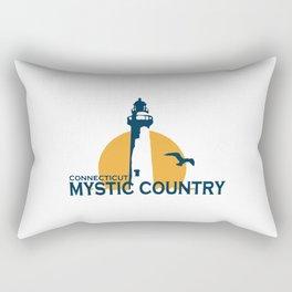 Mystic - Connecticut. Rectangular Pillow