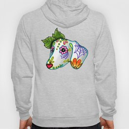 Dachshund - Day of the Dead Sugar Skull Wiener Dog Hoody