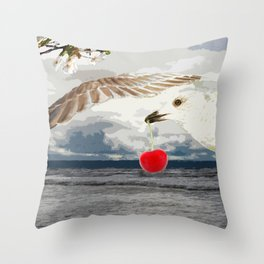 Say what you sea Throw Pillow