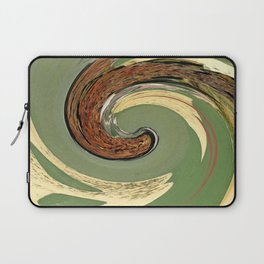 Swirl 05 - Colors of Rust / RostArt Laptop Sleeve