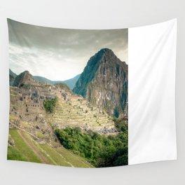 Machu Picchu at Dawn Wall Tapestry