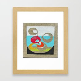Japanese garden 02 Framed Art Print