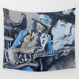 Stevie Ray Vaughn tribute Wall Tapestry