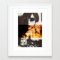 shining Framed Art Prints featuring Shining by Lama BOO