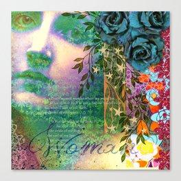Phenomenal Woman Canvas Print