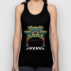 Chinatown  Unisex Tank Top