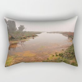 Misty Assateague Island Marsh Rectangular Pillow