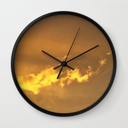 Sunset I Wall Clock