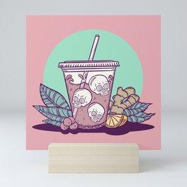 Purple Drank - Teal & Rose Mini Art Print