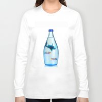 scuba Long Sleeve T-shirts featuring Ella Scuba by HWDESIGN