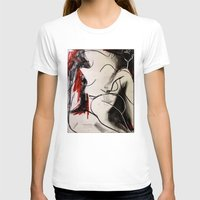 chameleon T-shirts featuring Chameleon by Helen Syron