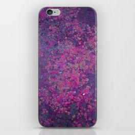 Pink Moss iPhone Skin
