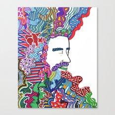 Christopher Unkempt Canvas Print