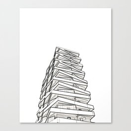 Architecture: Tule Towers Canvas Print