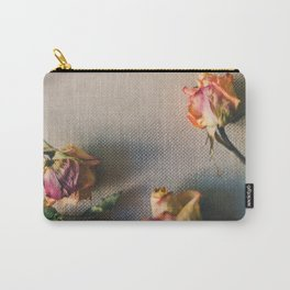 Dried Roses Are Beautiful Too Carry-All Pouch