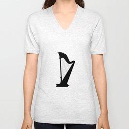 Harp Unisex V-Neck
