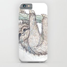 Be Slothful like a Sloth iPhone Case