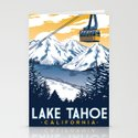 lake tahoe california by retroprints