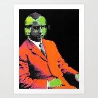 hologram Art Prints featuring hologram by A B O V E B E L O W