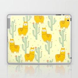 Alpaca summer pattern Laptop & iPad Skin