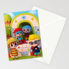 Turtle Boy's Gang Stationery Cards