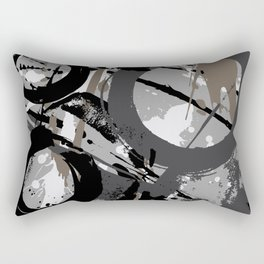 Enso Groove C by Kathy Morton Stanion Rectangular Pillow