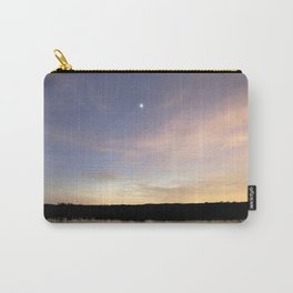 Watercolor Nightscape, Patuxent River 01, Maryland, Post Crepescule Carry-All Pouch
