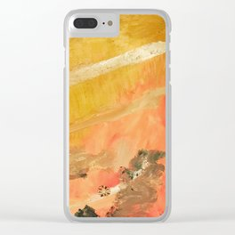 AJ's Abstract for Luke (Spina Bifida) Clear iPhone Case