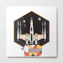 Spaceship 88 Metal Print