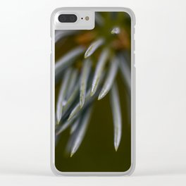 FIR TREE Clear iPhone Case