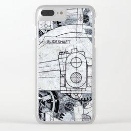 Slide Shaft Clear iPhone Case