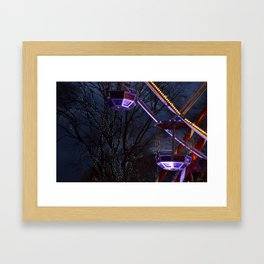 The BigWheel Framed Art Print