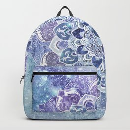 FREE YOUR MIND in Blue Backpack