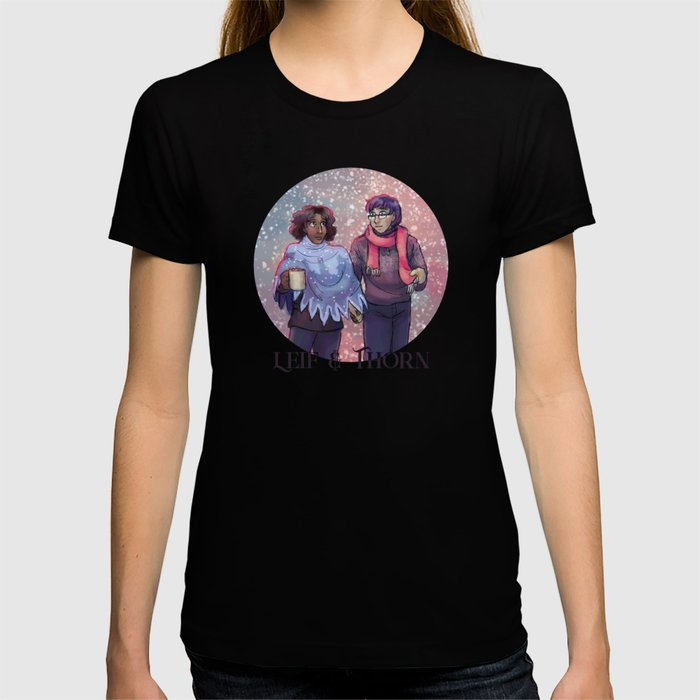 Leif & Thorn: I've Got My Love To Keep Me Warm T-shirt