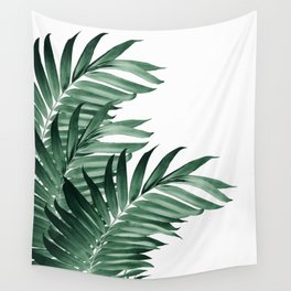 Palm Leaves Tropical Green Vibes #3 #tropical #decor #art #society6 Wall Tapestry